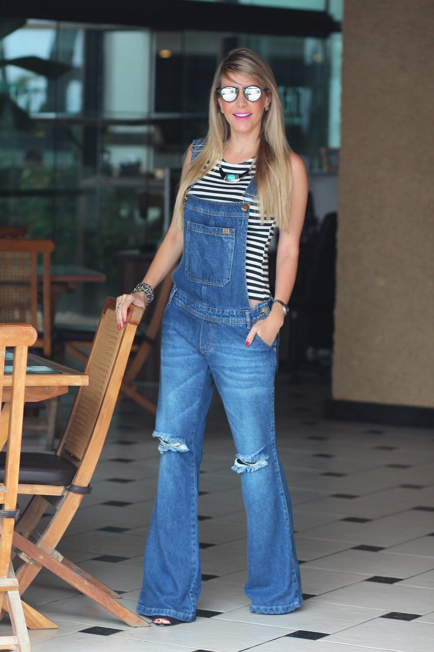 eb4c5b079 Carol Gaia » Arquivo » Look Despojado | Macacão Jeans Destroyed