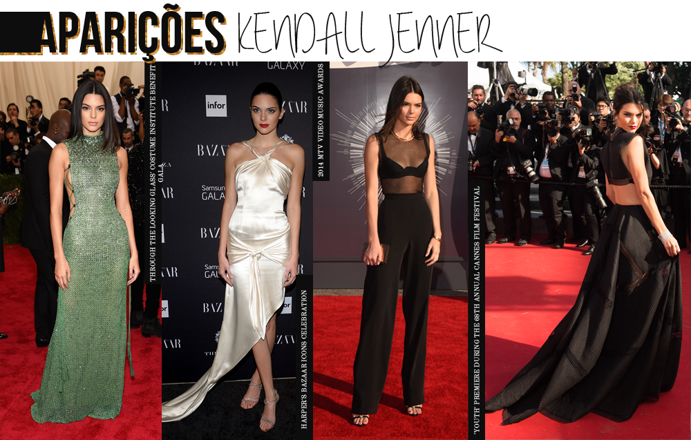 kendall jenner appearence