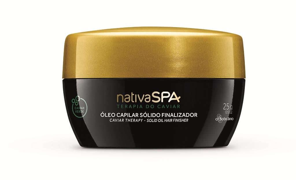 Nativa SPA Terapia do Caviar Óleo Capilar Sólido Finalizador