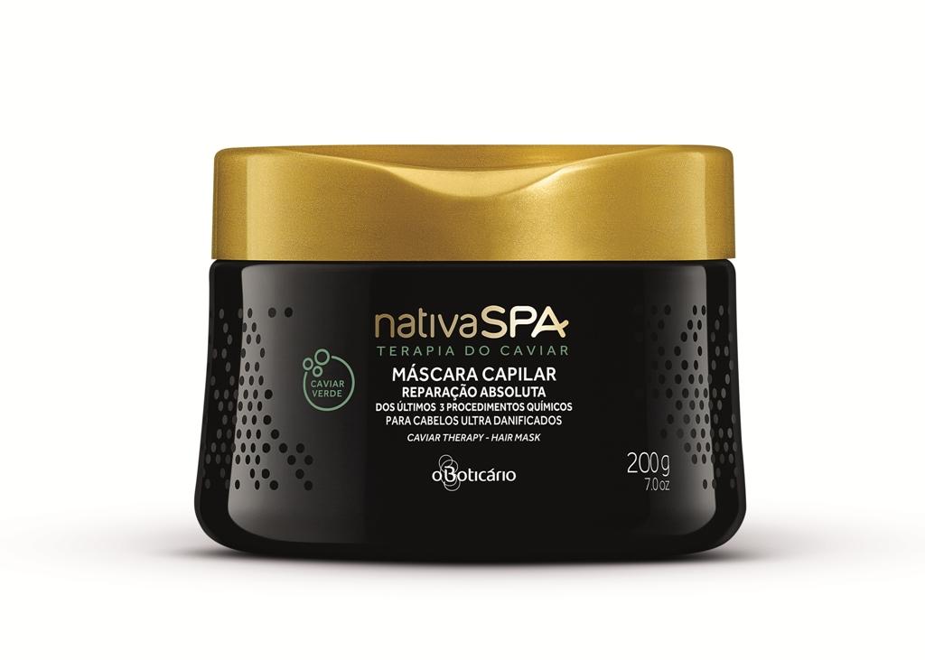 Nativa SPA Terapia do Caviar Máscara Reparação Absoluta