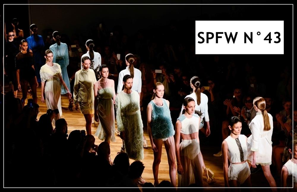 Alexandre Herchcovitch São Paulo Fashion Week- Verão 2016 Abril/2015 foto: Chris Von Ameln/ Agência Fotosite