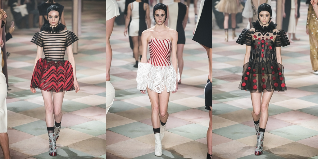252a0e0de7d0a Sem dúvidas a Dior tem os vestidos curtos mais lindos da temporada. São  perfeitos, diferenciados e únicos. Muito brilho, é o que se espera para  coordenar ...