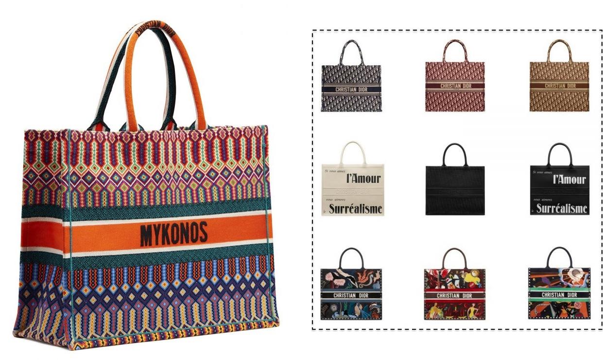 Por ter um valor elevado, diversas versões inspired estão lançadas pelas  lojas de departamento, uma forma de aderir a trend da bolsa em tamanho maxi. e05fc92b40