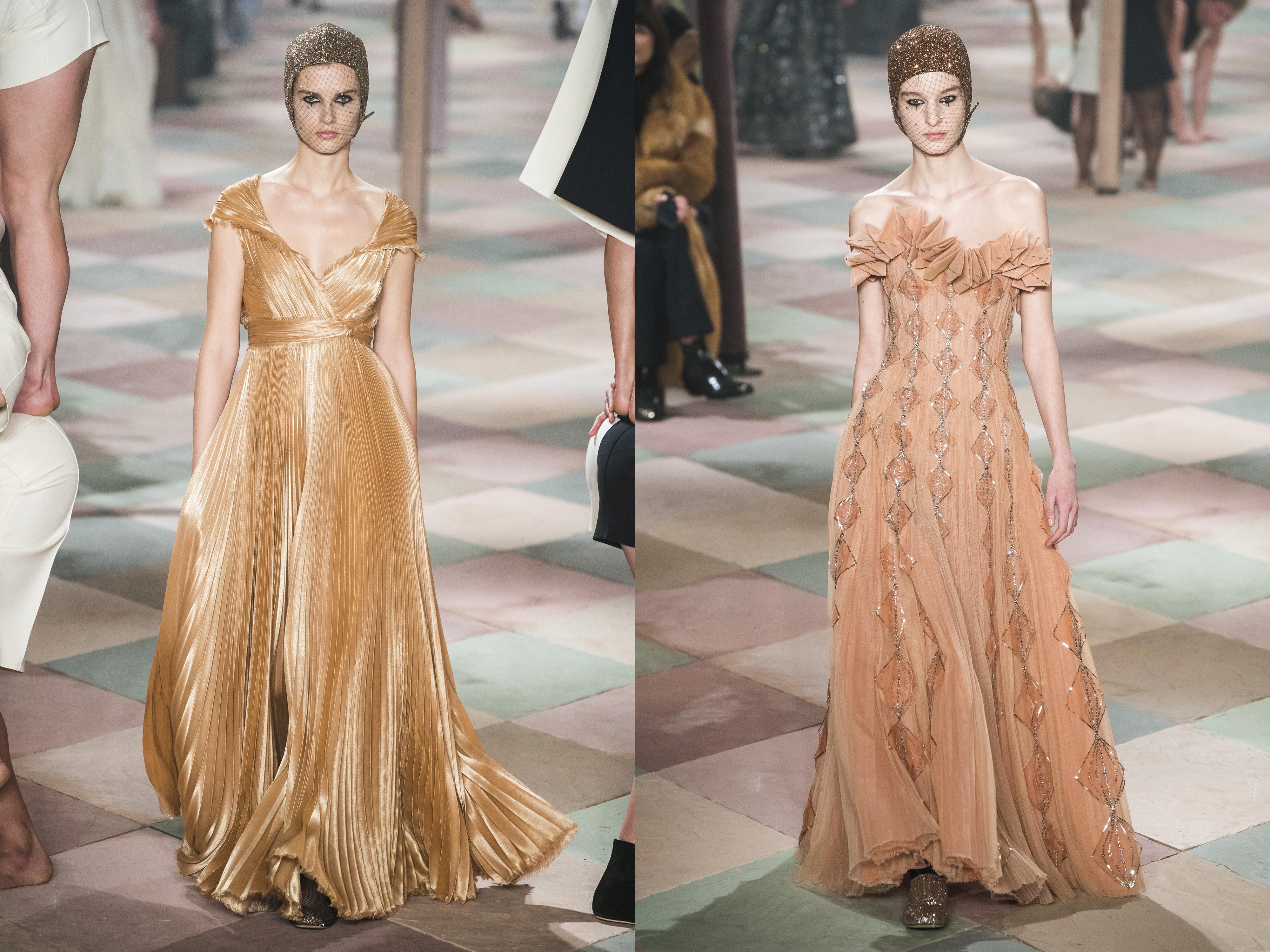 c6914d3e6ac7c Nuances rosados são encantadores e exaltam a feminilidade, e os modelos da  Dior são perfeitos.