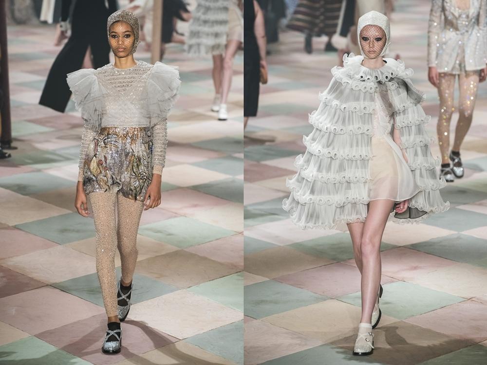 70636030351c1 Nuances pratas e o branco também agregaram ao deslie. Tudo em uma  genialidade encanadora. Vestidos para se sentir uma princesa moderna.